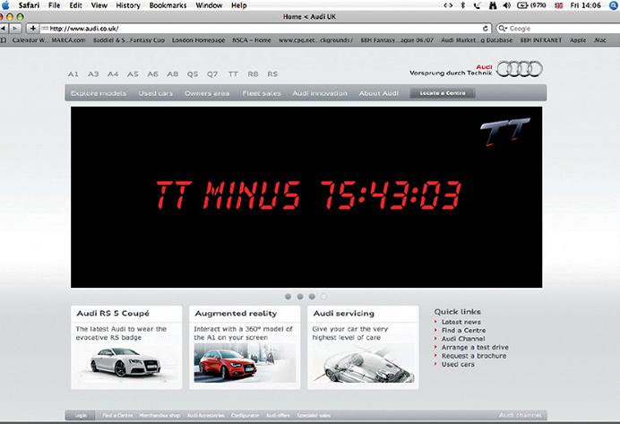 Integrated: Audi TT