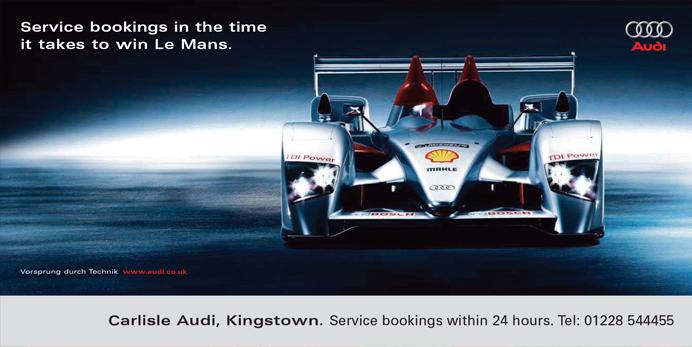 Audi billboard 96sheet