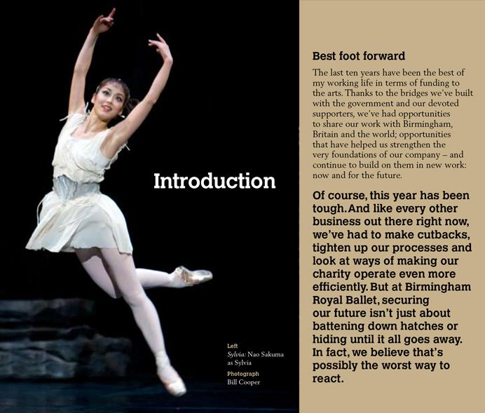 Birmingham Royal Balet annual report