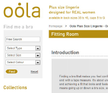 Website: Oola lingerie